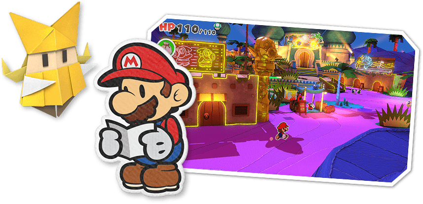 Paper Mario Nintendo Switch